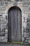 Old Doorway. To a derelict building Stock Images