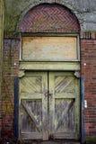 Old doorway Royalty Free Stock Photo