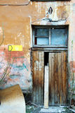 Old doorway. Royalty Free Stock Photo