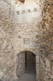 Old doorway in ancient ottoman fort Royalty Free Stock Images