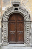 Old doorway, Bagnaia Royalty Free Stock Photo