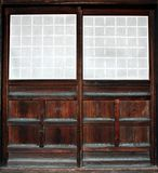 Old doorway in Japan Stock Photo