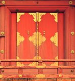 Old doorway in Japan Stock Images