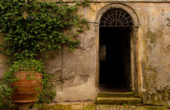 Old Doorway Rome Royalty Free Stock Photos