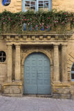 Old Doorway - Sarlat - France Stock Images