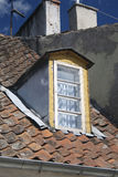 Old dormer window Royalty Free Stock Photos