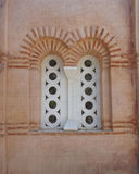 Old double arched window Royalty Free Stock Photo