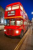Old double-decker bus, London. Stock Photography