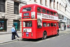 Old doubledecker Royalty Free Stock Photo