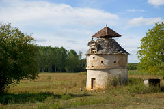 Old dove tower in France Royalty Free Stock Photography