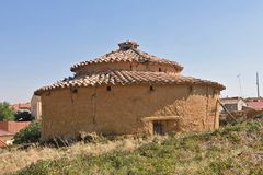 Old dovecote in Valdunquillo, Tierra de Campos, Royalty Free Stock Photography