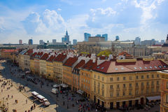 Old downtown  of Warsaw, Poland Royalty Free Stock Photos