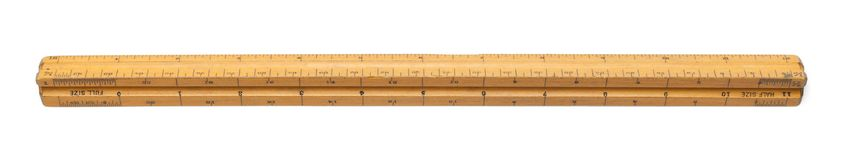 Math Triangle Ruler Royalty Free Stock Photography