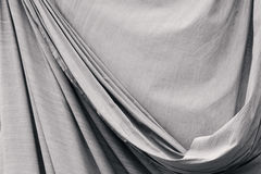 Old drapery. Old fabric drapery background texture Royalty Free Stock Photography