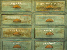 An old drawer Royalty Free Stock Photo