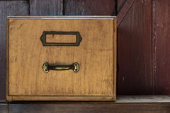 Old drawer Stock Photography
