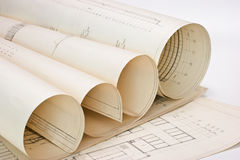 Old drawings Royalty Free Stock Photos