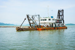 Old dredge. Thailand Royalty Free Stock Photography