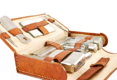 Old dressing case Royalty Free Stock Images