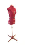 Old dressmaker dummy stock photo