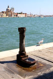 Old drinking fountain at the Italian La Giudecca Royalty Free Stock Photography