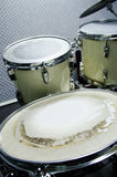 Old drum set Stock Images
