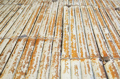 Old dry bamboo. As flat surface Royalty Free Stock Images