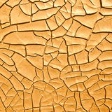 Old dry cracked surface Stock Image