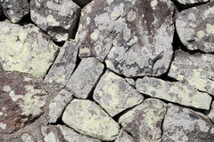 Old dry stone wall Stock Photography