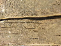 Old dry wood texture with cracks. Can be used as background royalty free stock photo