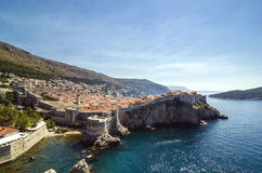 Old Dubrovnik town Stock Photography