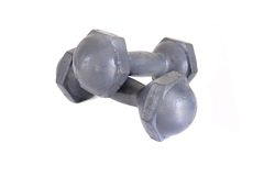 Old dumbbell Royalty Free Stock Photo