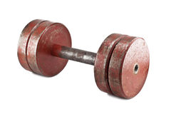 Old dumbbell Stock Images