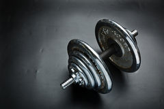 Old dumbbells weight Stock Photography