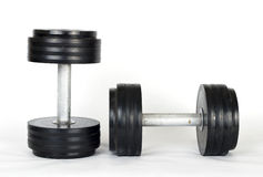 Old dumbells Royalty Free Stock Photo