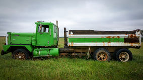 Old Dump Truck Royalty Free Stock Photography