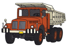 Old dumper truck Royalty Free Stock Photography