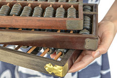 Old and Dusty abacus Royalty Free Stock Photo