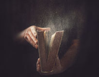 Old Dusty Book royalty free stock photography