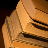 Old dusty books Royalty Free Stock Image