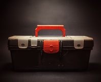Old Dusty Case for Tools Royalty Free Stock Photography