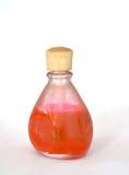 Old dusty nail polish bottle Stock Photo