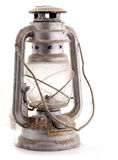 Old dusty oil lamp Royalty Free Stock Photo