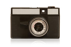 Old dusty photo camera Royalty Free Stock Photos