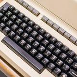 Old dusty typewriter Stock Photos