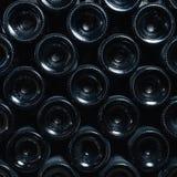Old dusty wine bottles Royalty Free Stock Photo