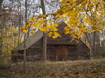 Old Dutch Barn. An 18th century Dutch barn in Dutchess County, New York Royalty Free Stock Image