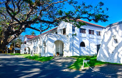Old Dutch Buildings At Galle Fort In Galle, Sri Lanka Stock Photography