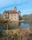 Old Dutch castle in early morning light Stock Image
