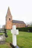 Old Dutch church Stock Images